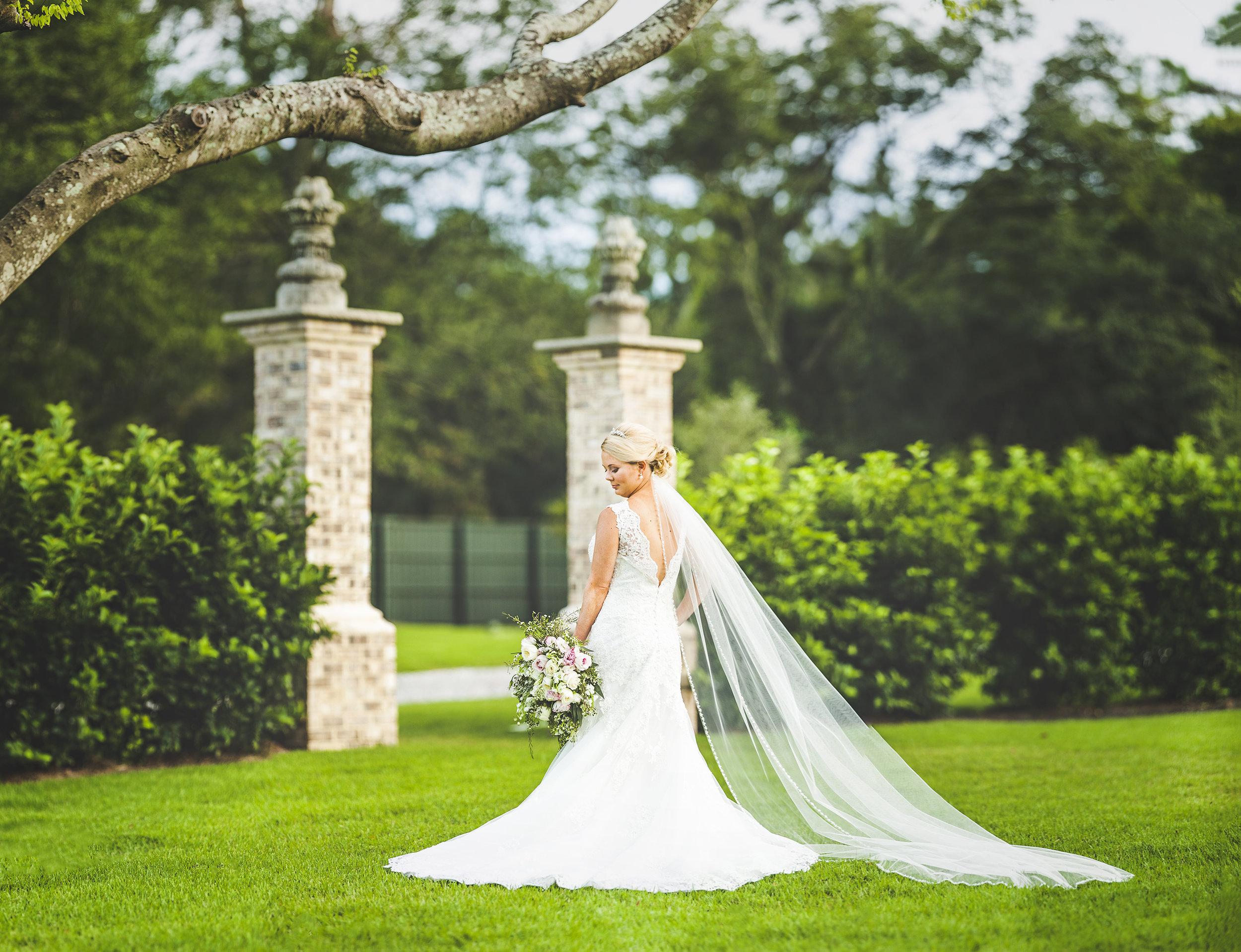 Bridal Portraits session Wilmington NC Photographers