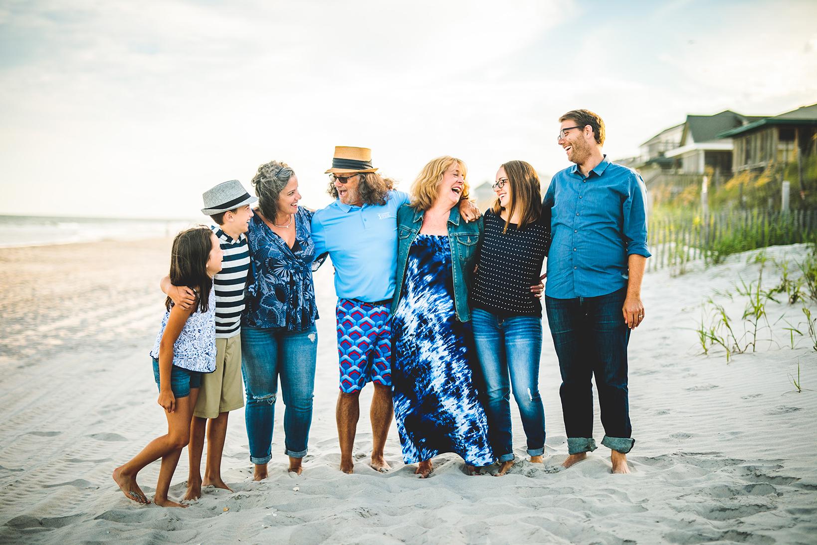 Topsail Beach Family Portraits