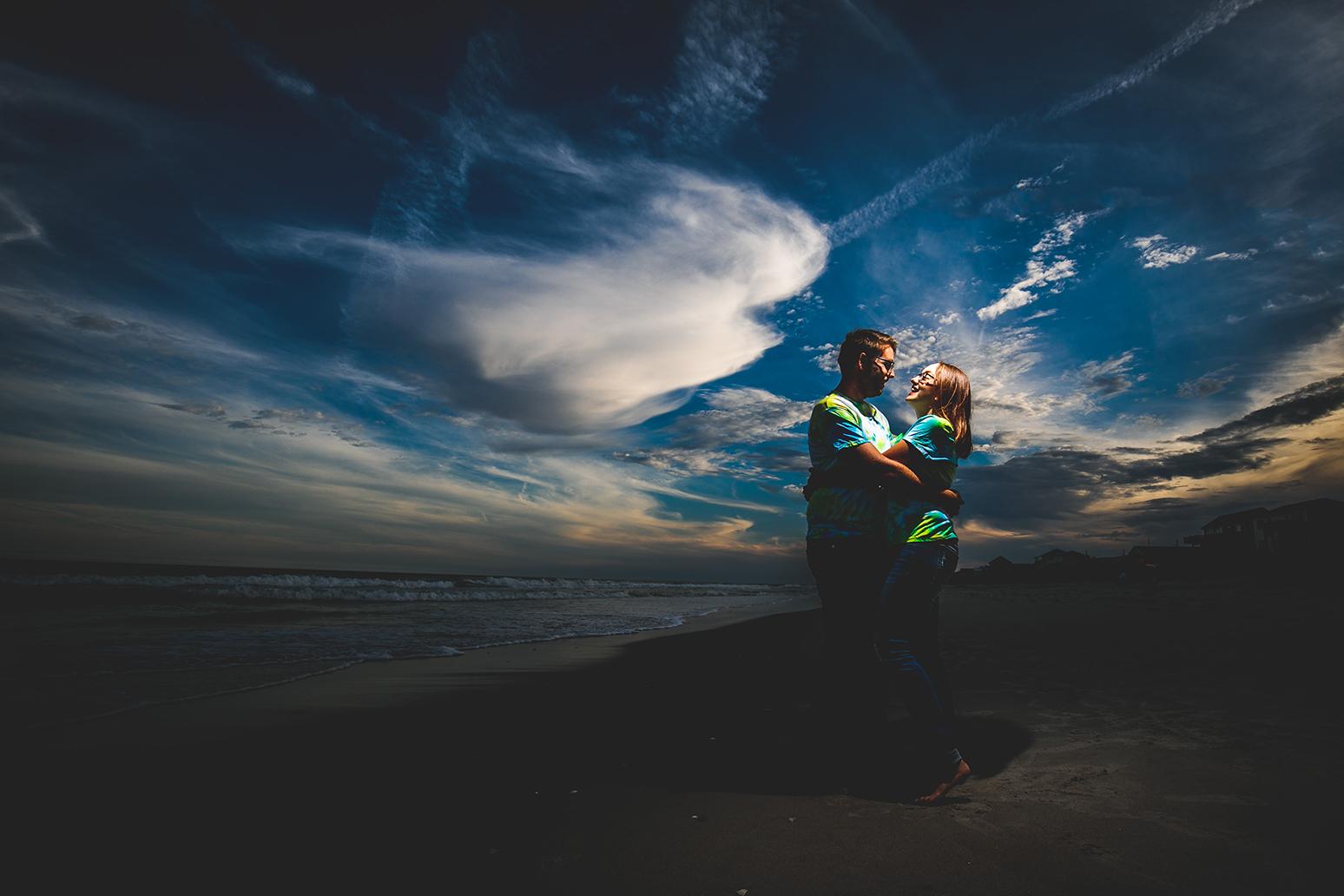 Cute couple in topsail beach portrait.jpg