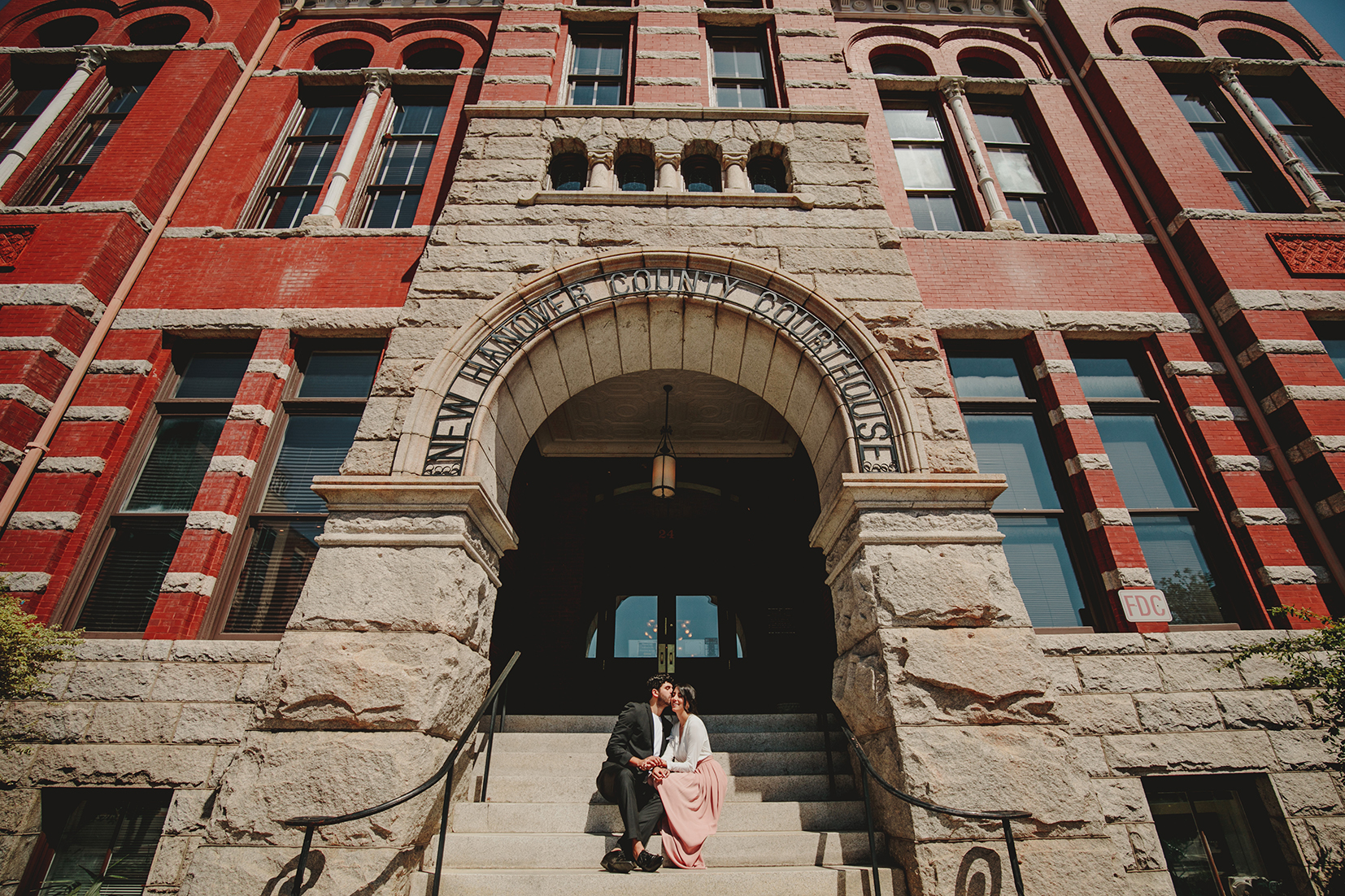 Getting Married at the courthouse downtown