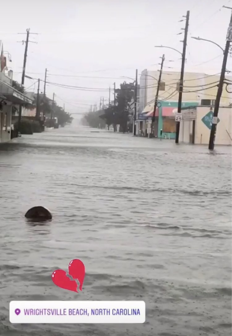 Wrightsville Beach after Hurricane Florence