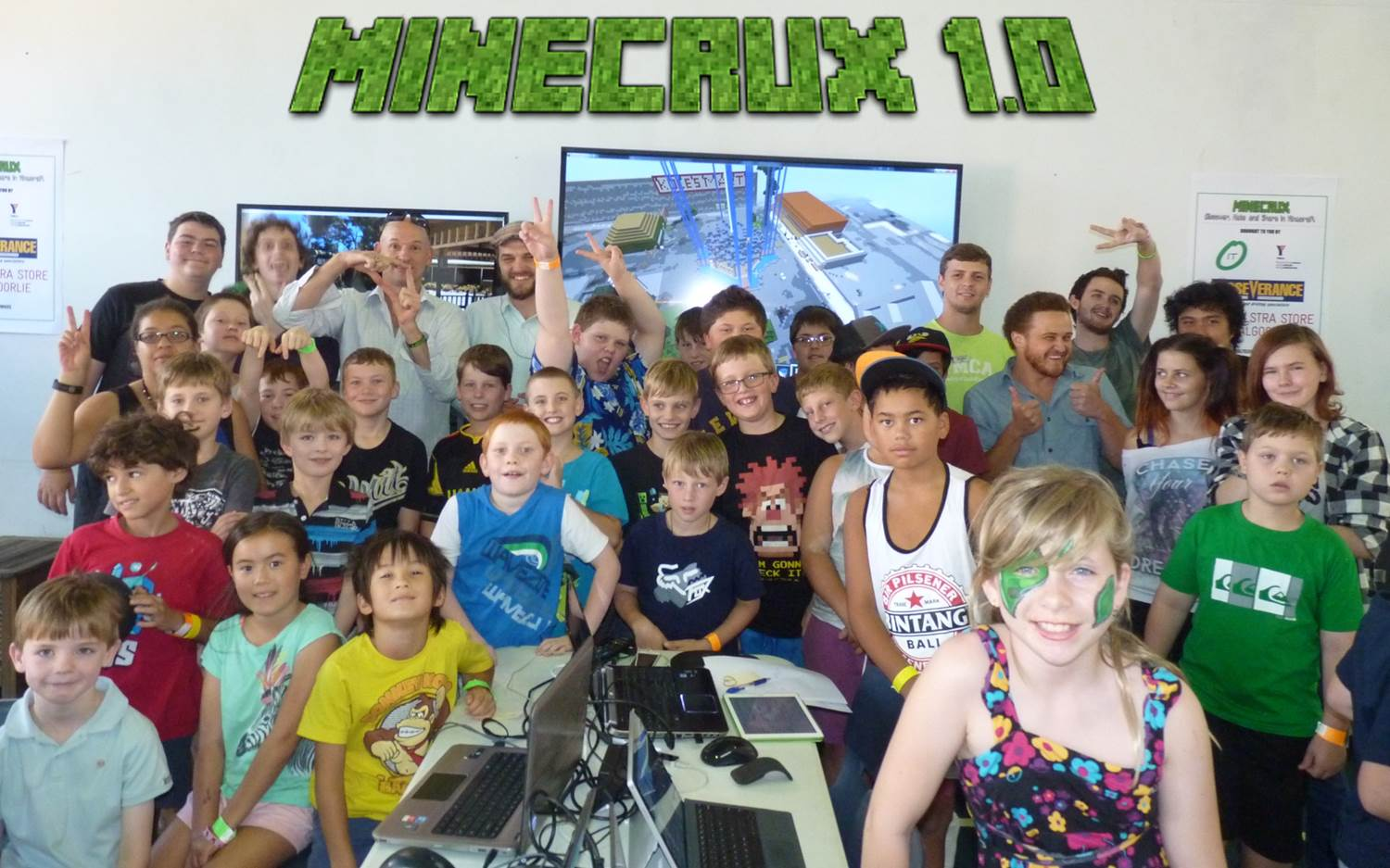 MineCrux Crafters and Crew