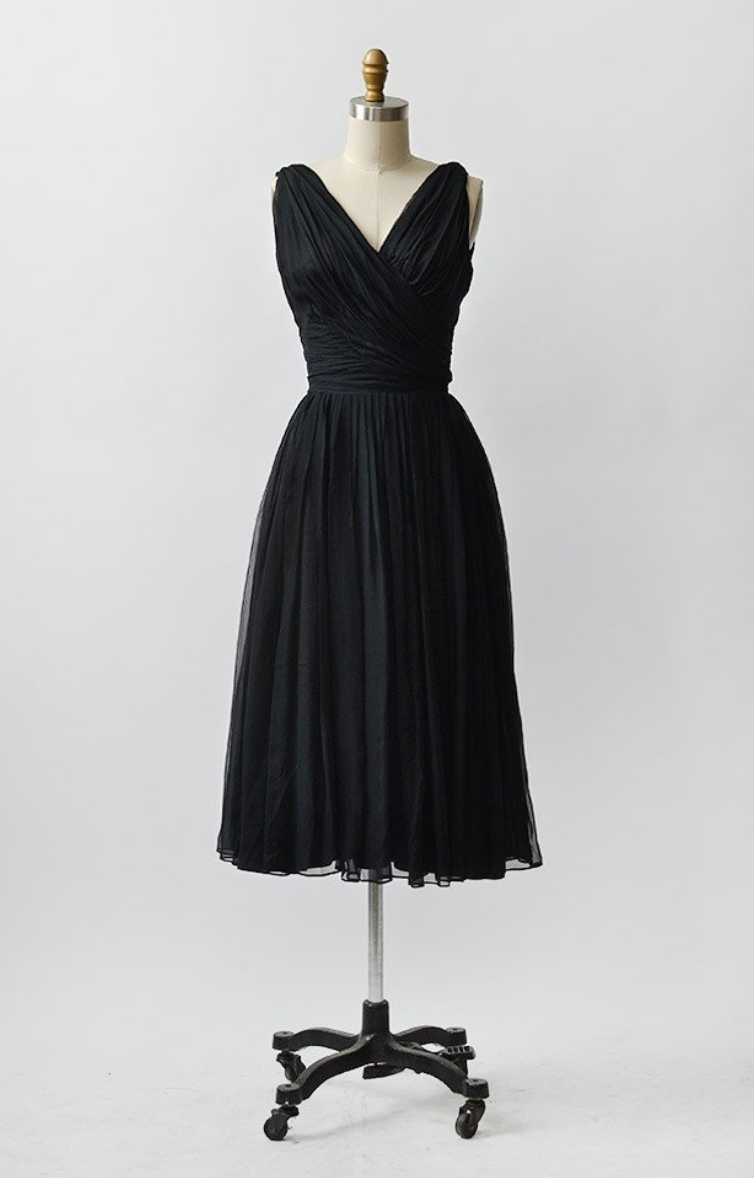 air of mystery vintage dress   $108 | Adored Vintage