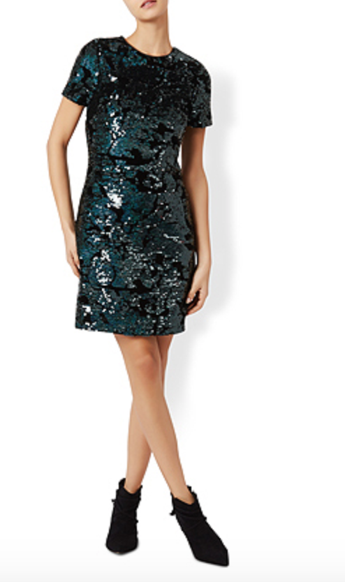 sofia sequin dress   $210 | Monsoon