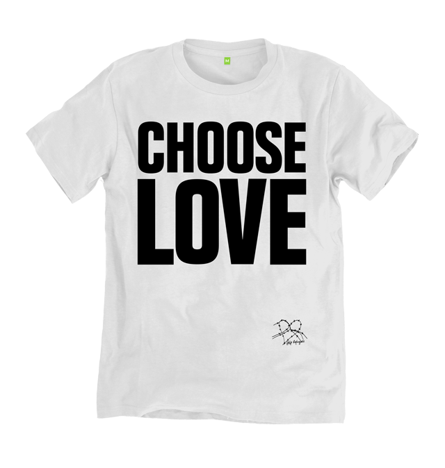 Choose Love T-Shirt by Help Refugees, £19 (All Proceeds to Help Refugees)