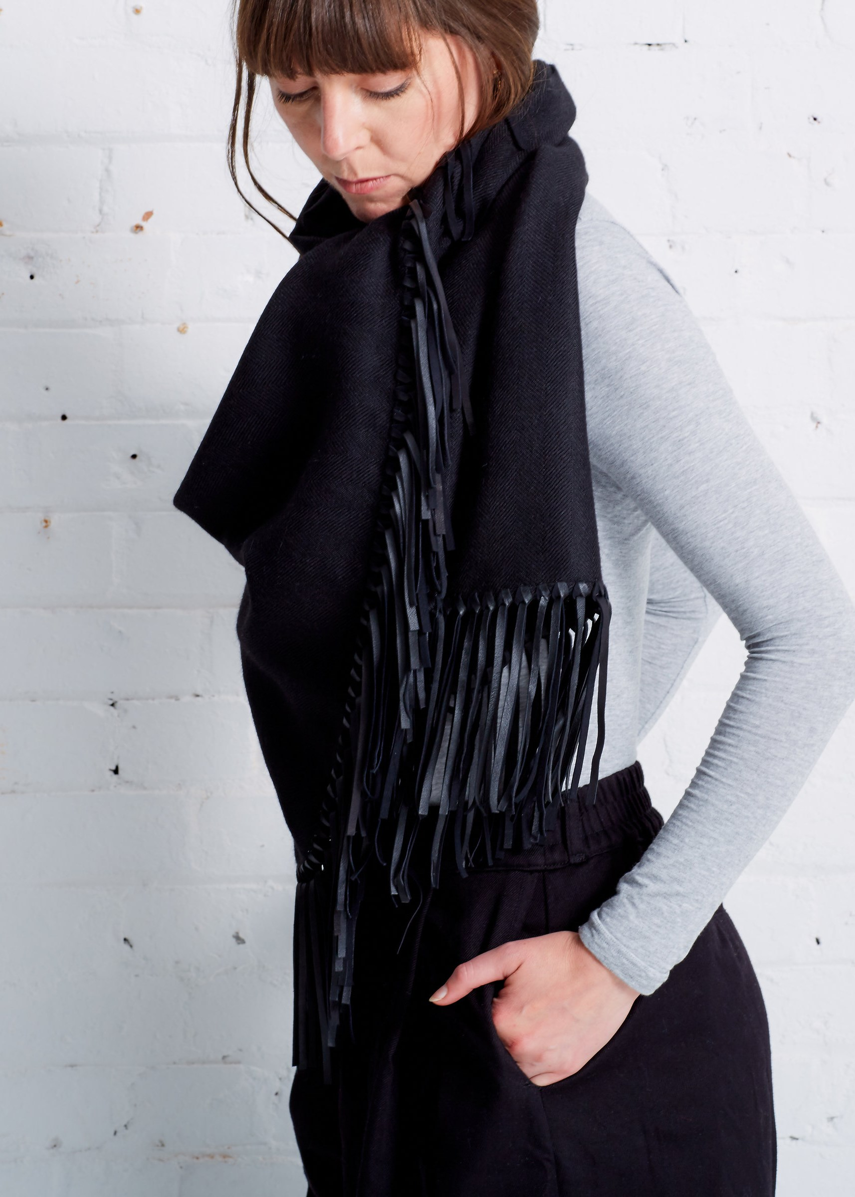 Aletha Baby Alpaca Scarf by A Peace Treaty at Gather&See, £435