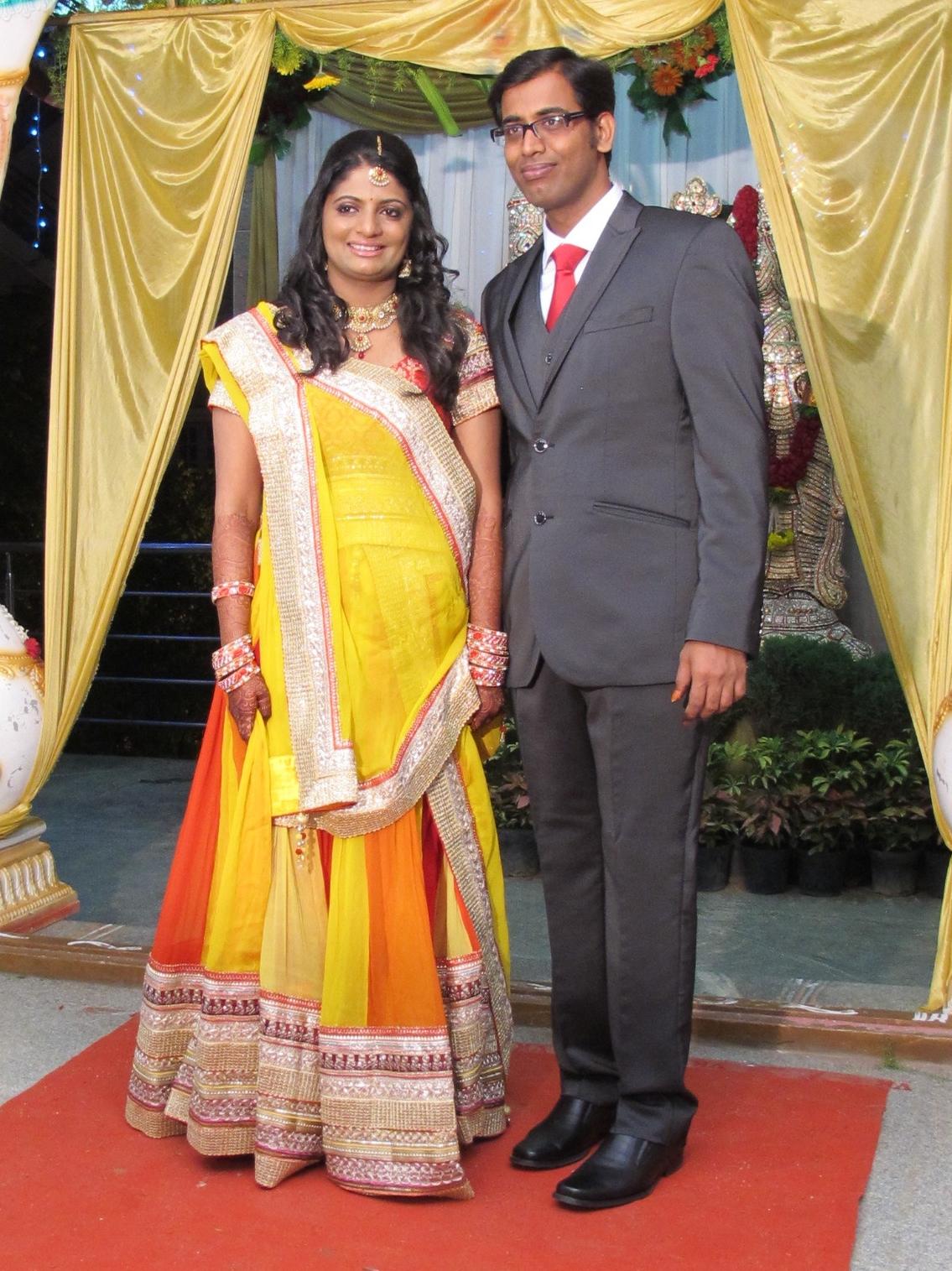 Swami's & Shilpa's wedding