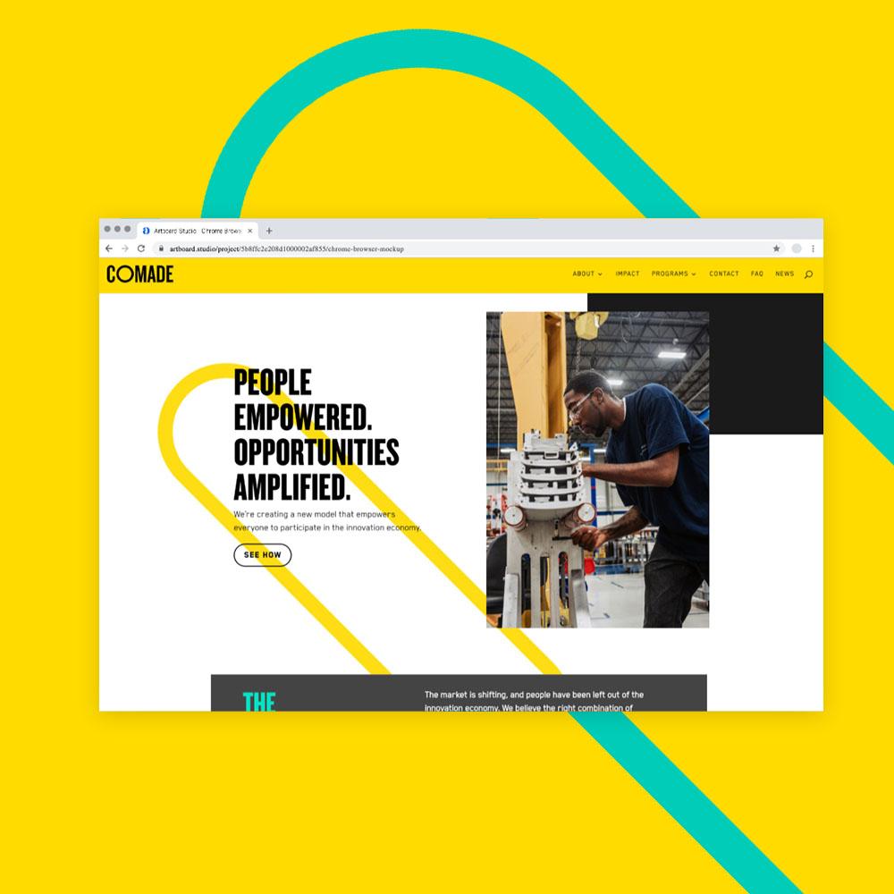 CoMADE  Brand Identity / Digital Design