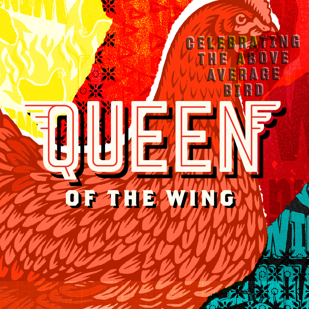 Queen Of The Wing  Brand Identity / Website / Social