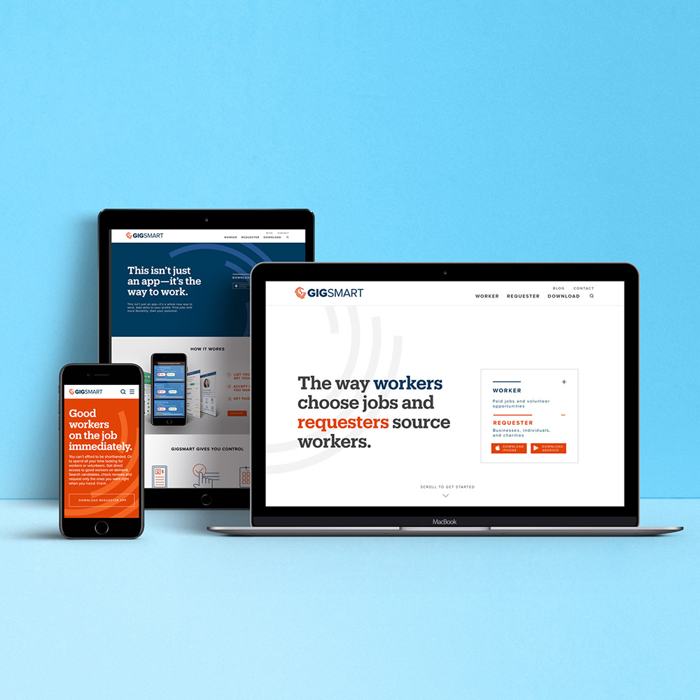 GigSmart  Branding / Website / Launch Campaign / App