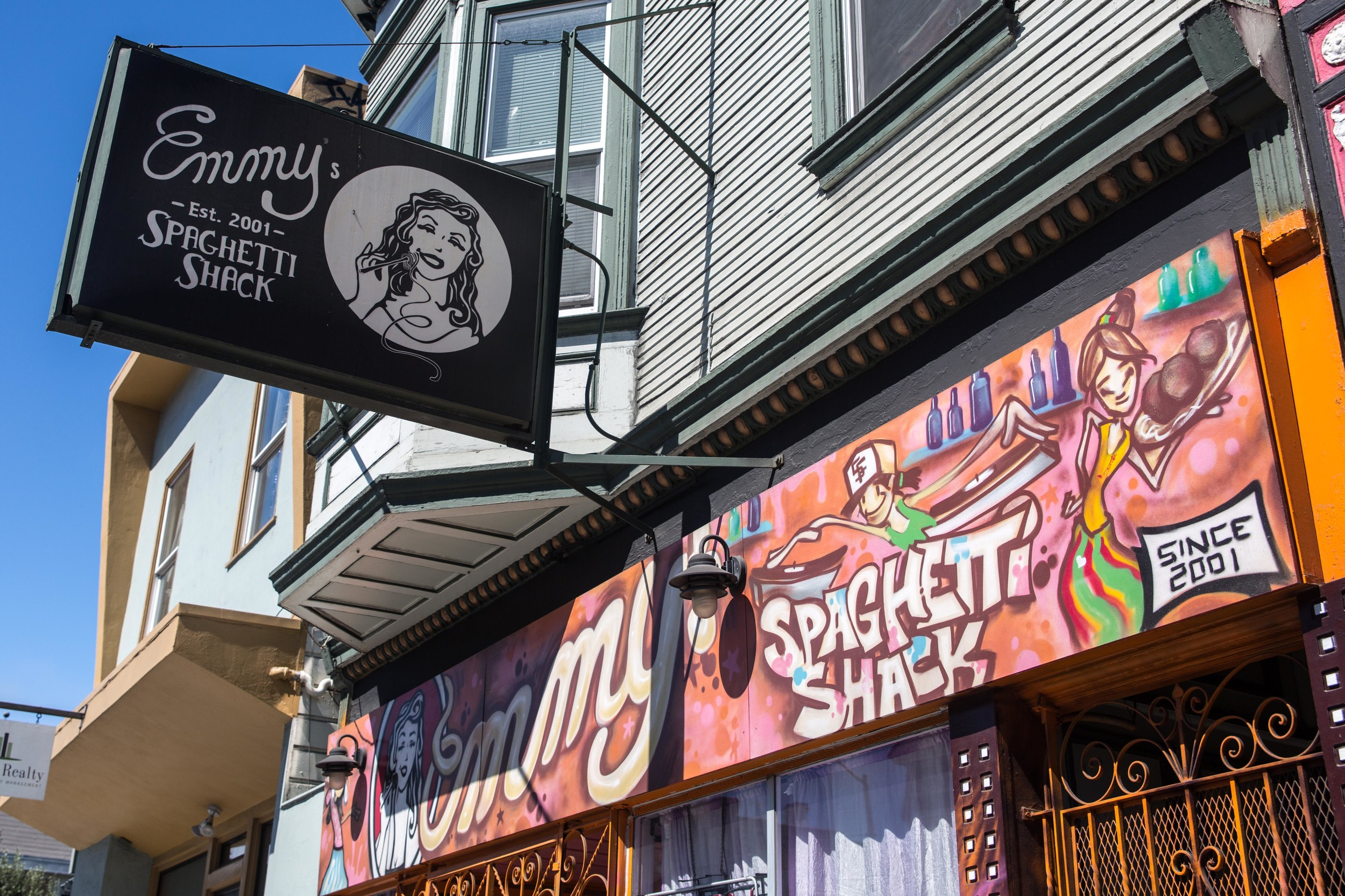 EMMY'S SPAGHETTI SHACK  - 3230 MISSION STREET - 415.206.2086