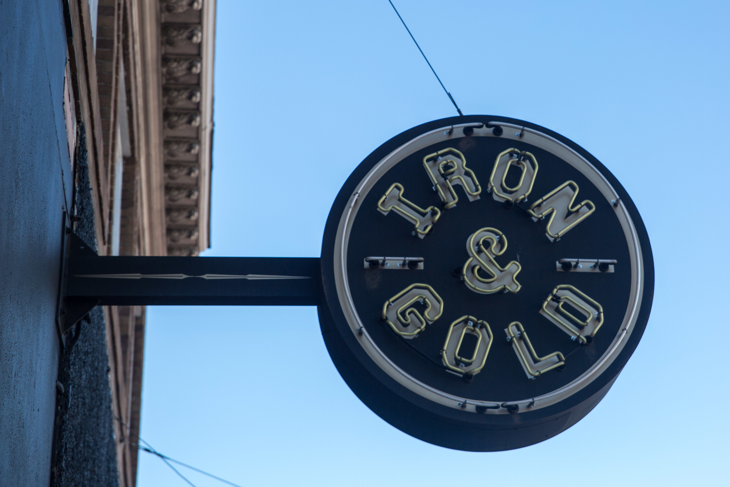IRON & GOLD  - 3187 MISSION STREET - 415.824.1447