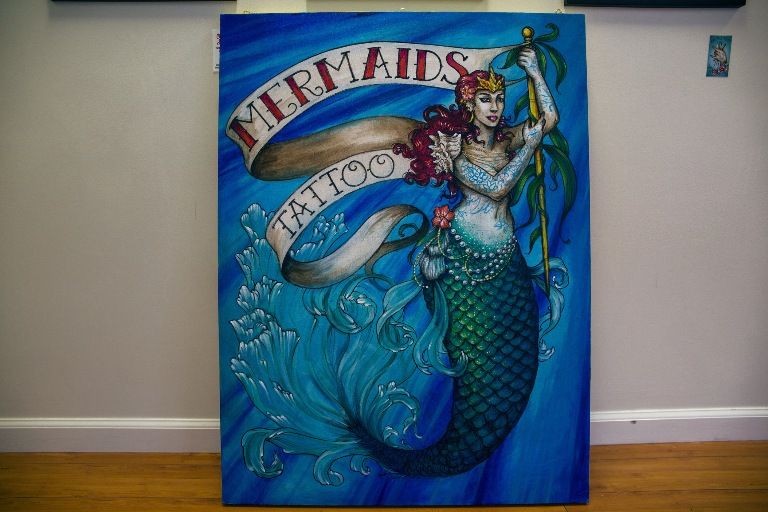 MERMAIDS TATTOO  - 3O32 MISSON STREET - 415.550.1400