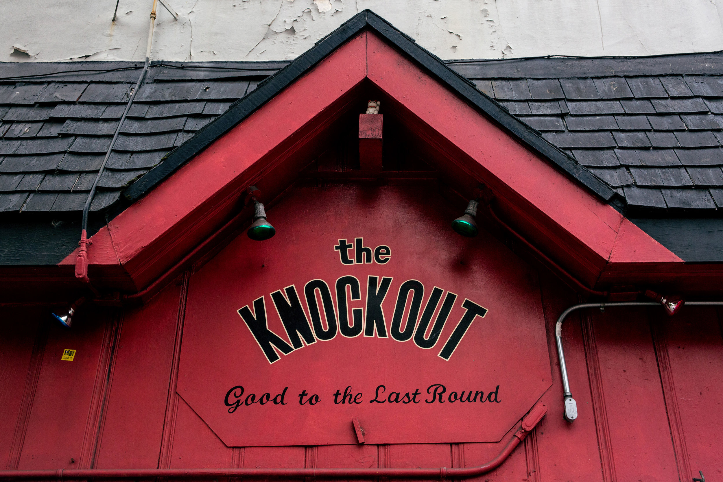 THE KNOCKOUT  - 3223 MISSION STREET - 415.550.6994