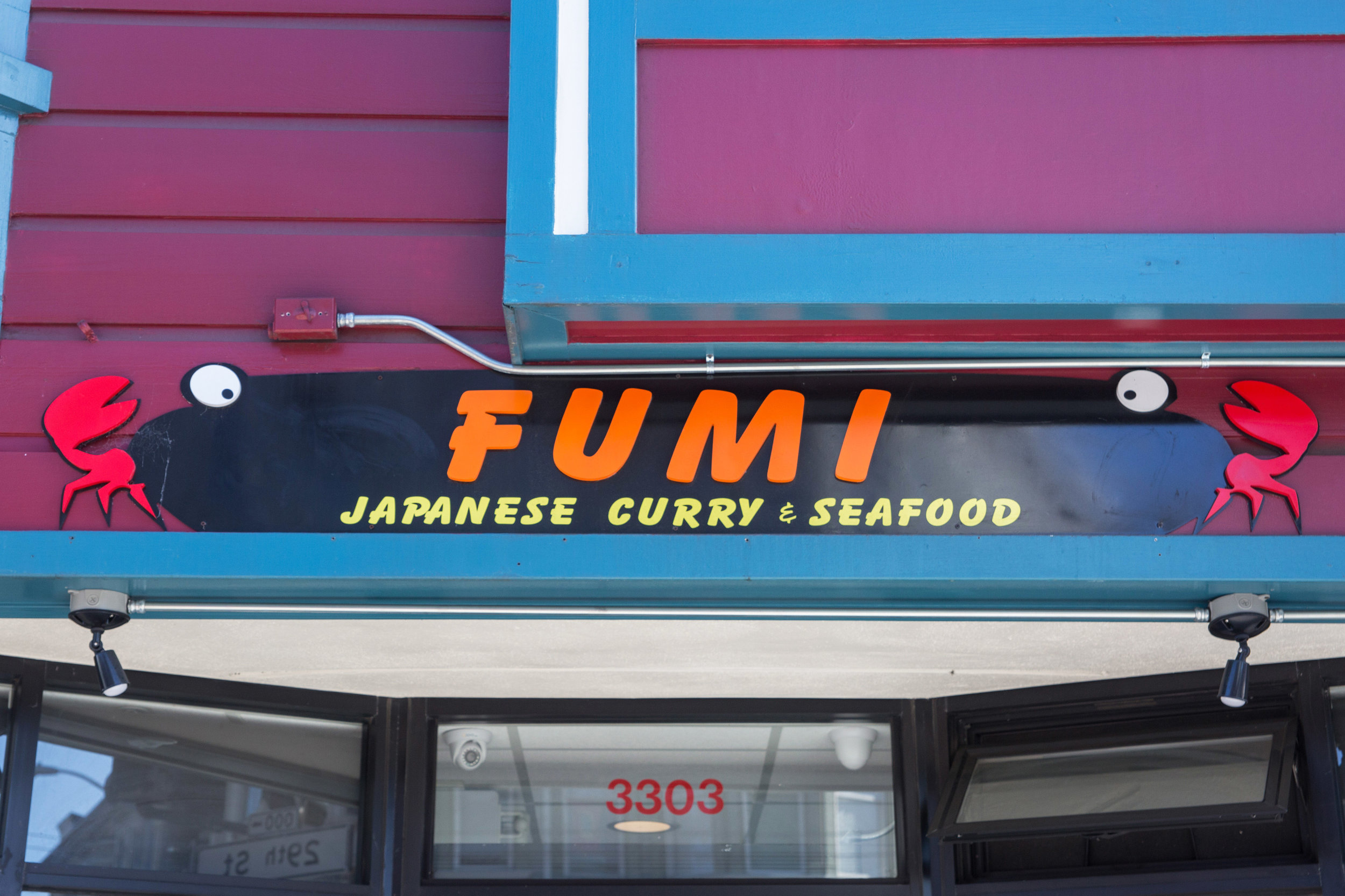 FUMI CURRY & RAMEN  - 3303 MISSION STREET - 415.757.0901