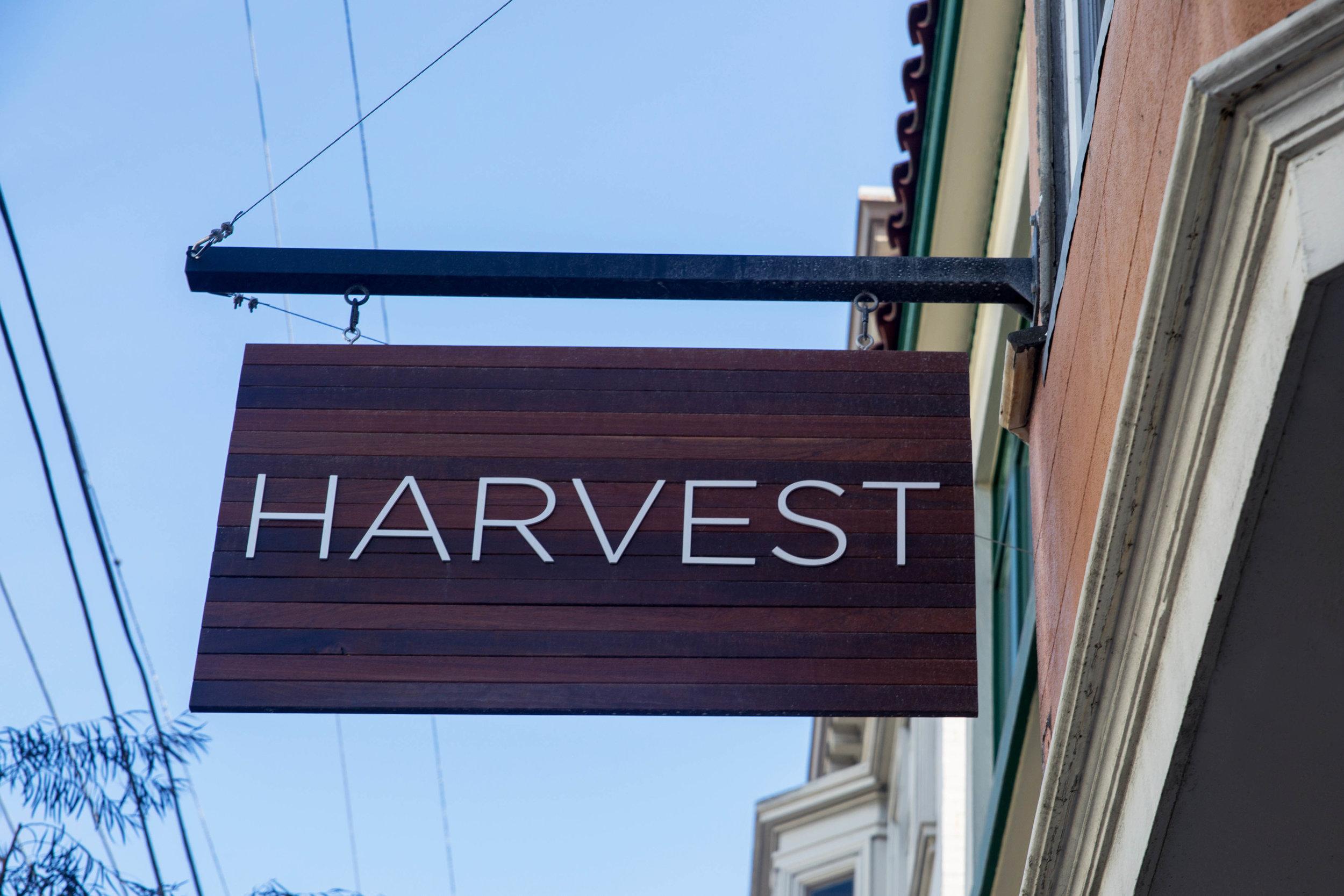 HARVEST  - 37a 29TH STREET - 415.814.3273