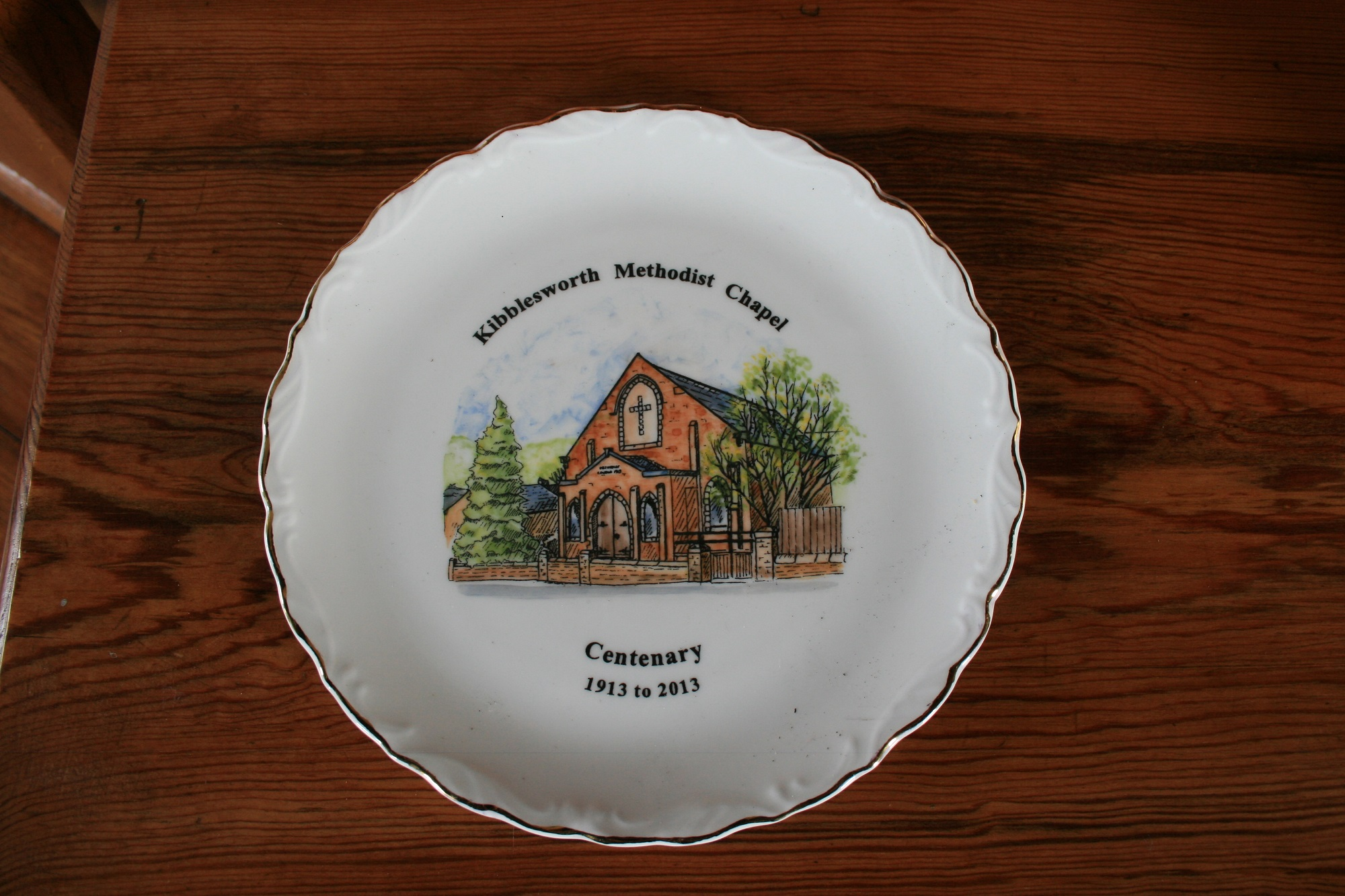 Commemorative Plate by Sue Betts