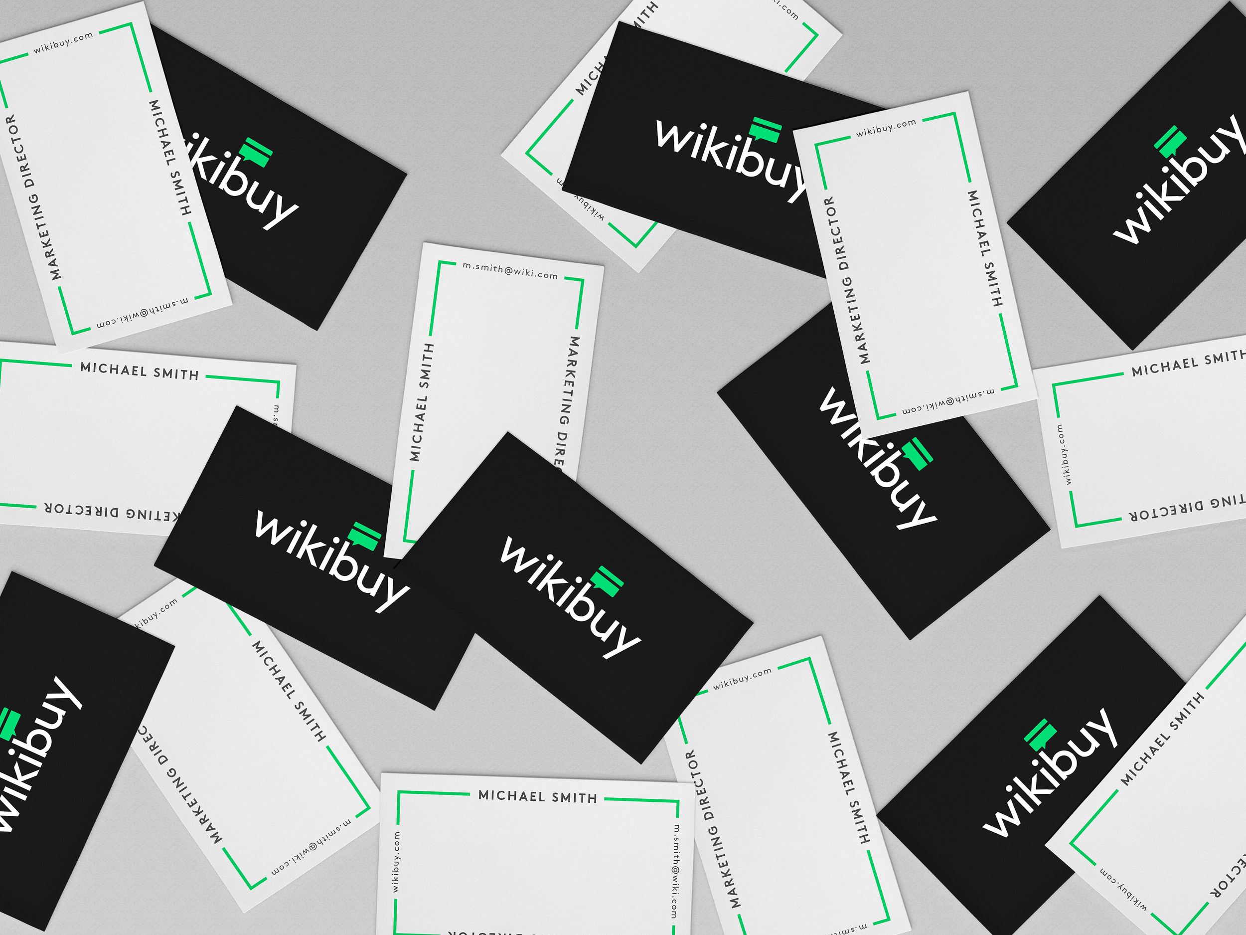An logo and branding project for a search engine started up called Wikibuy.