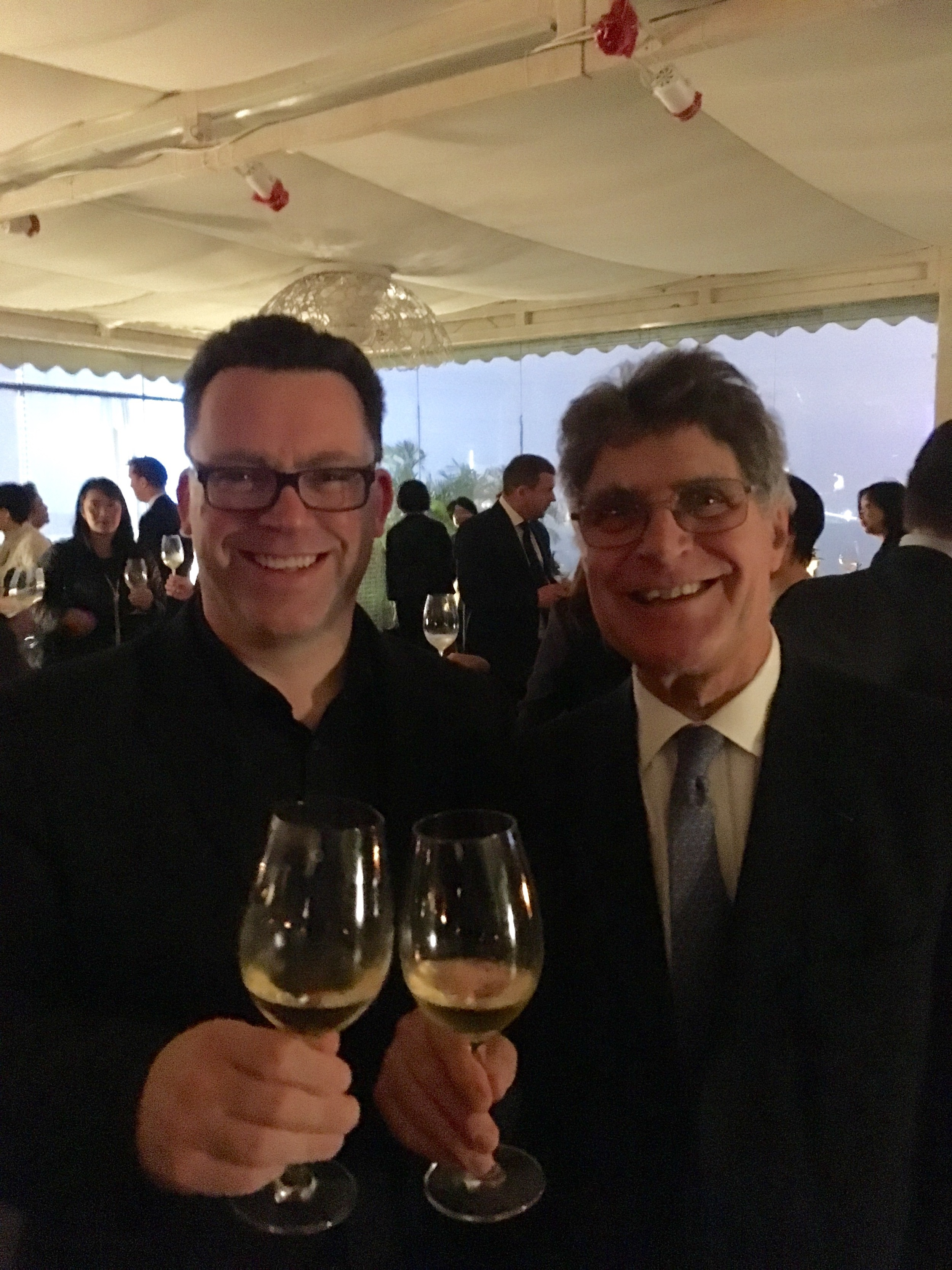 SHARING A GLASS WITH REMI KRUG