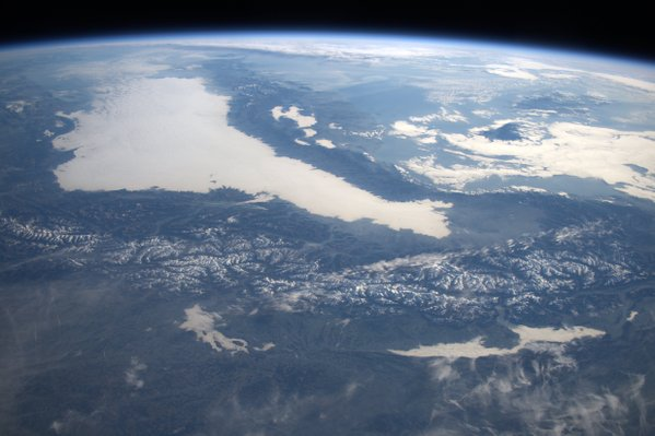 The ALPS from SPACE, DECEMBER 2015 FROM TIM PEAKE