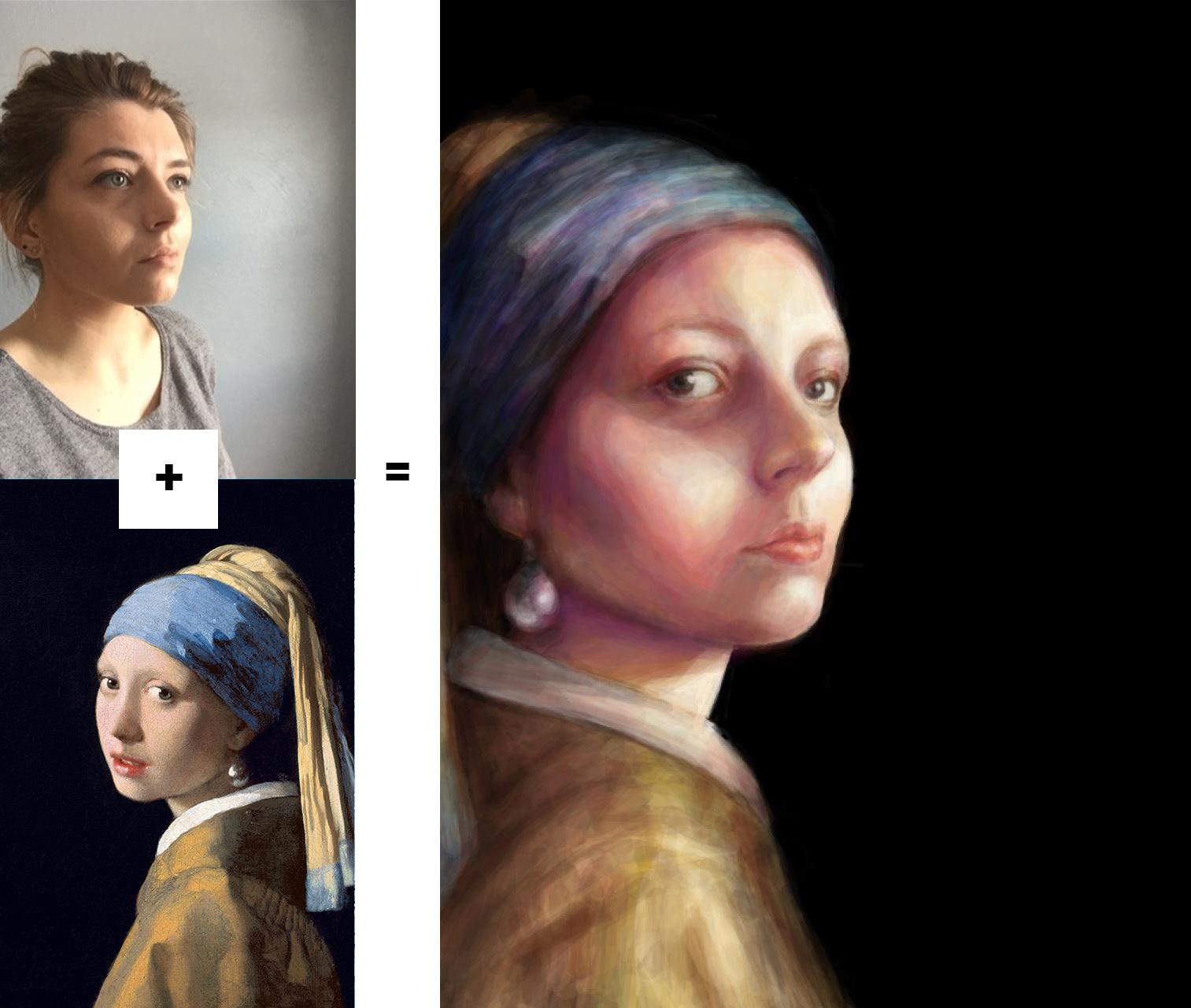 Reflecting on Vermeer
