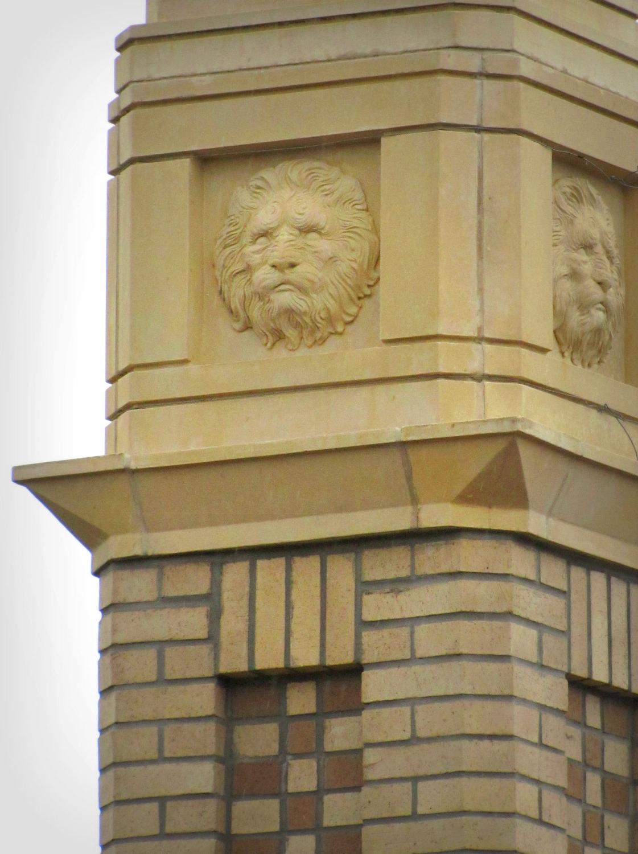 jacksonville florida san marco lion bas-relief
