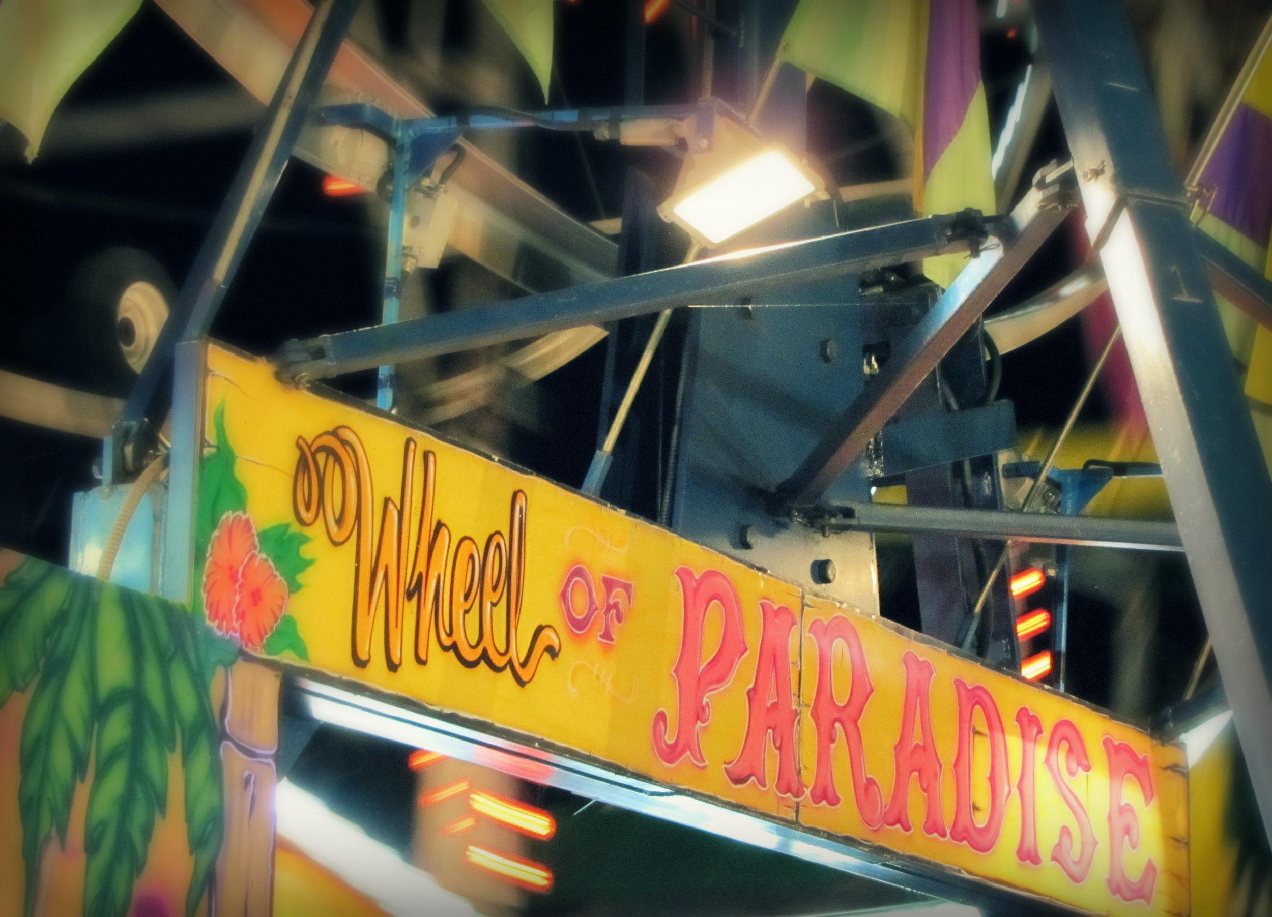 carnival wheel of paradise amusements