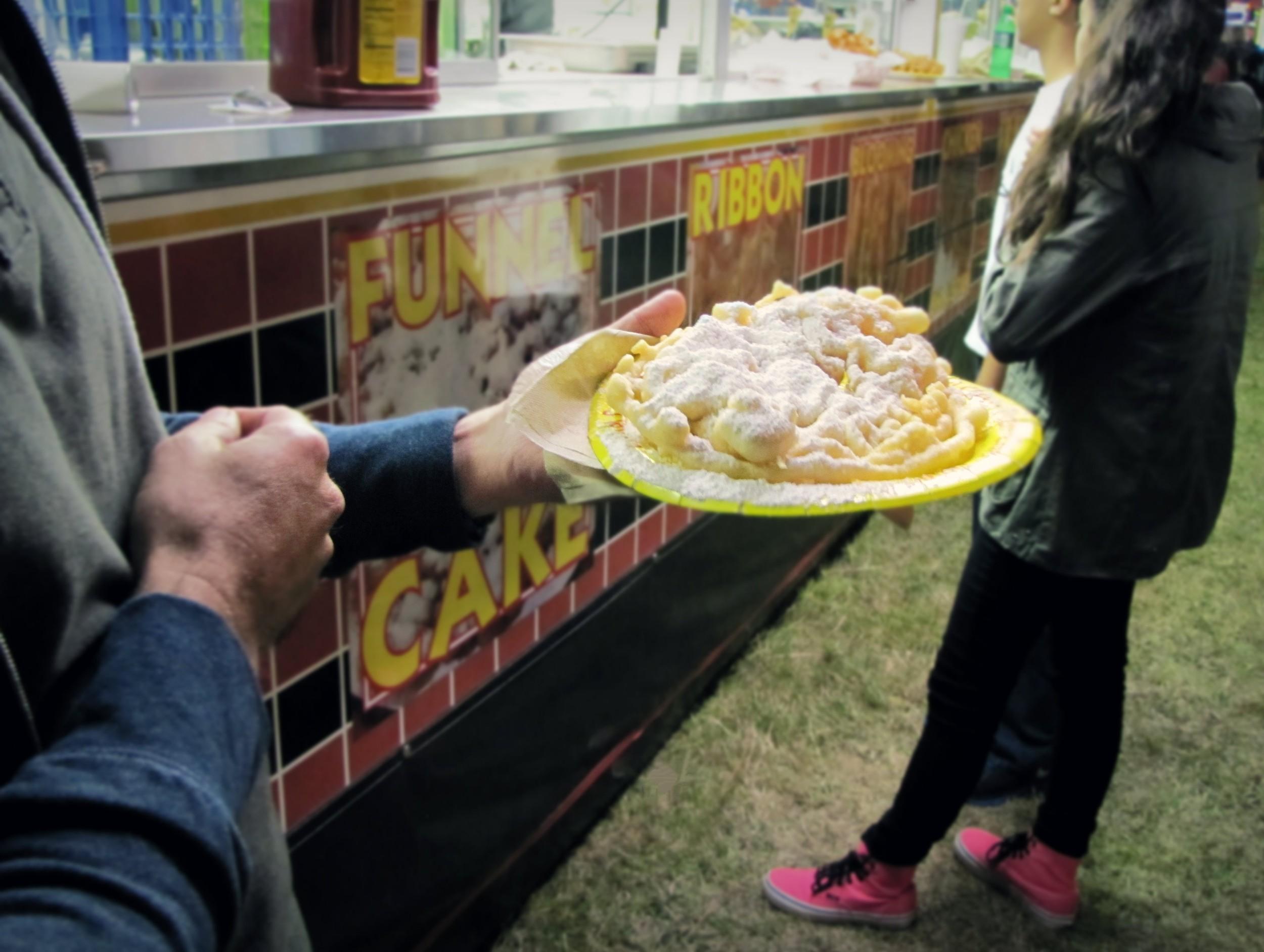 carnival funnel cake