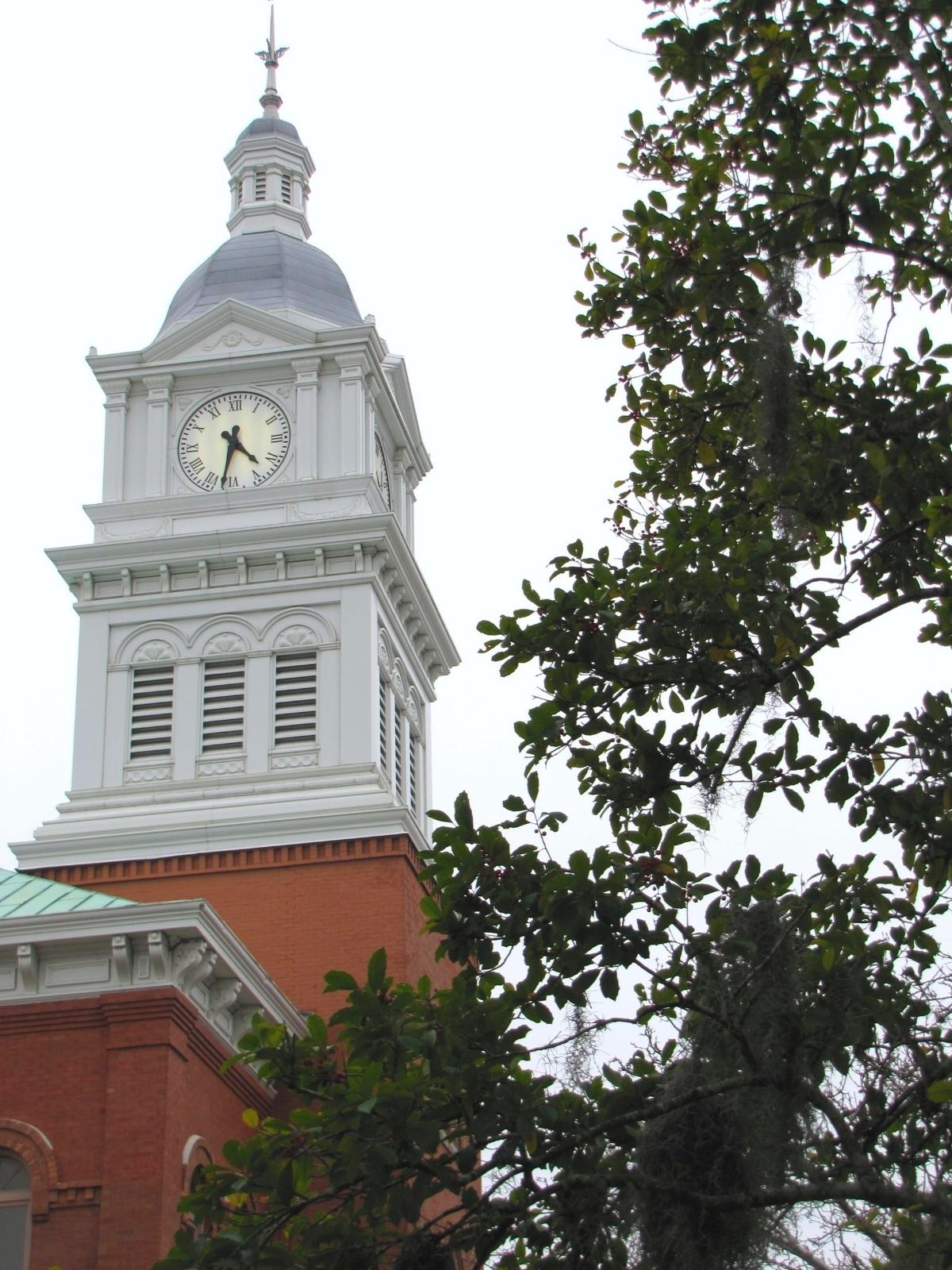 clock tower amelia island
