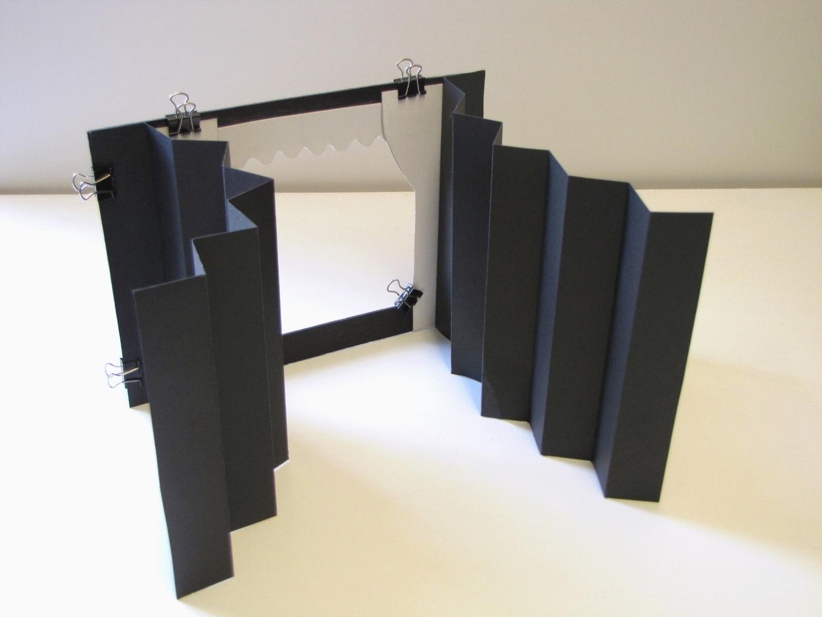 diy accordion tunnel book