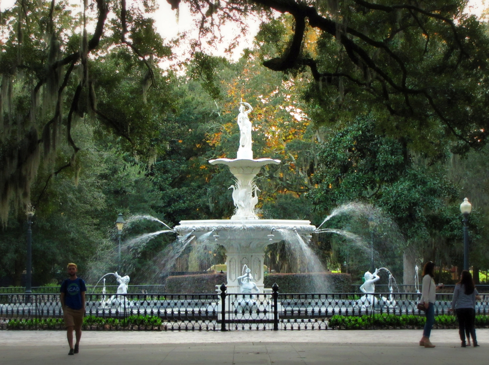 Forsyth Park fountain Savannah Georgia