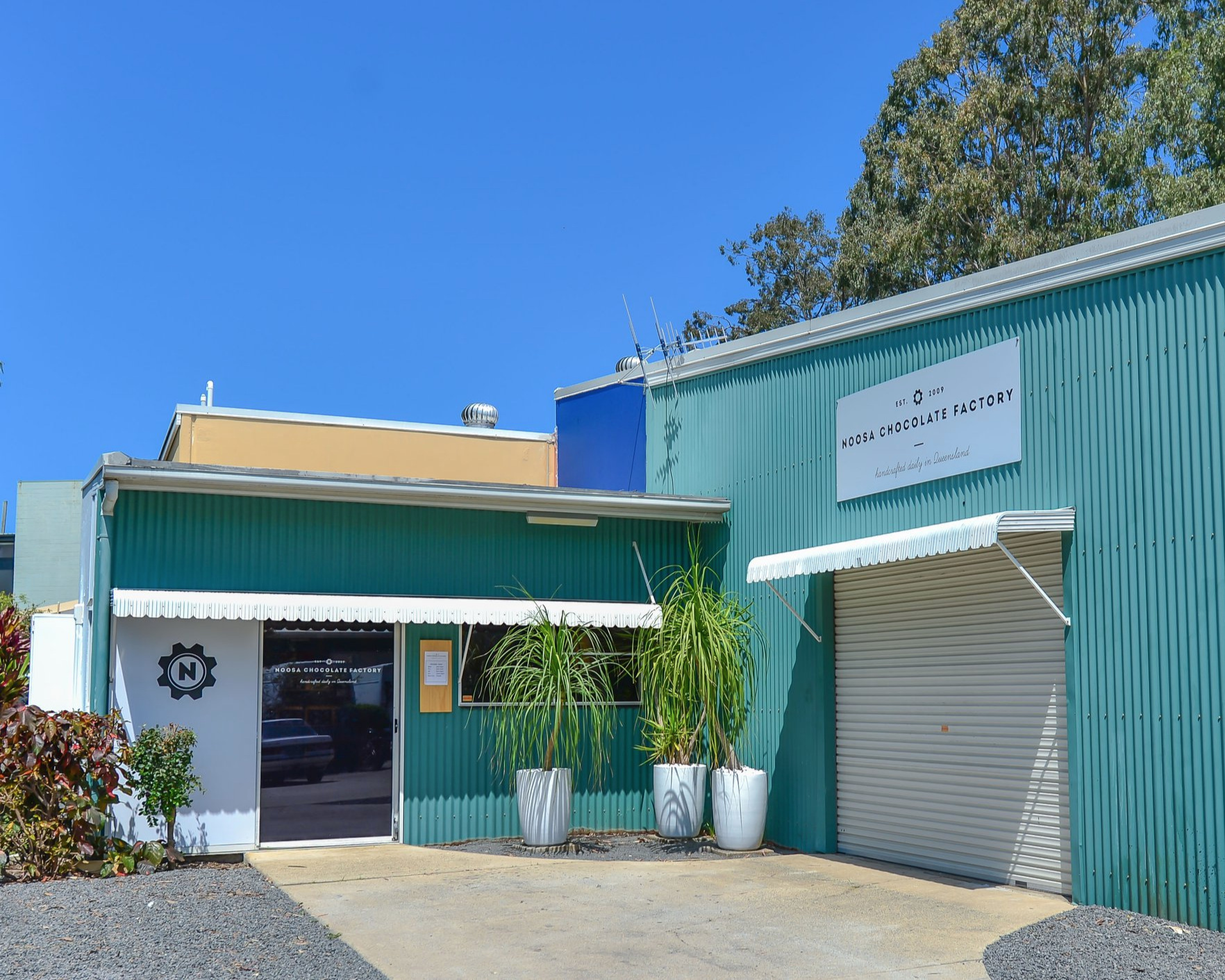 Our Noosa Chocolate Factory retail store in Project Ave, Noosaville