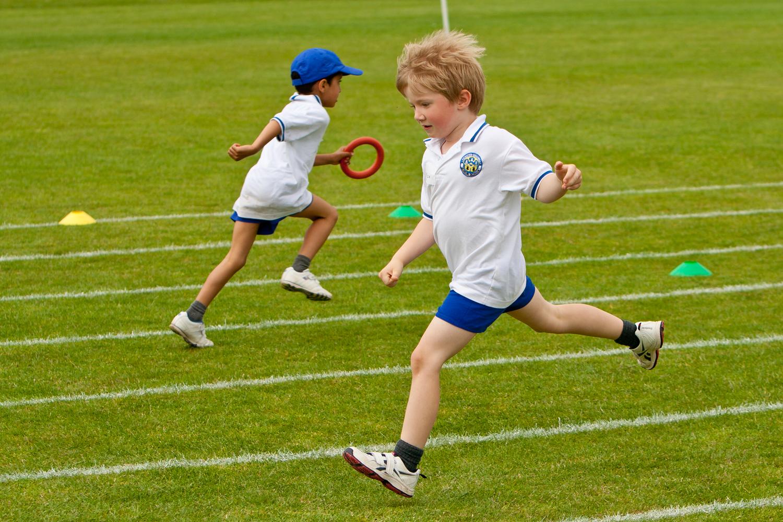 Leicester Gramma Junior School Sports Day