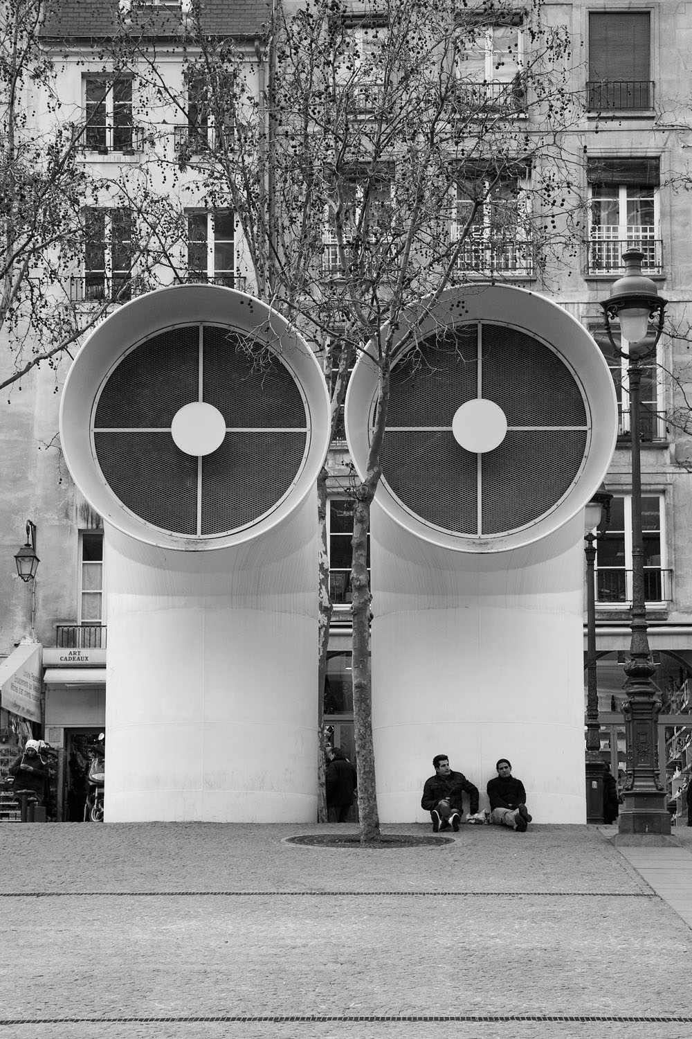 Pompidou Center - Paris, France