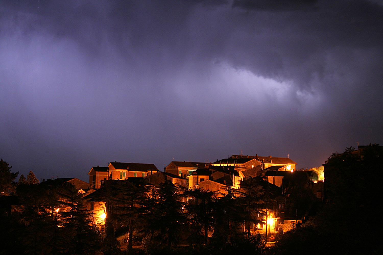 Thunder Storm - Proceno, Italy
