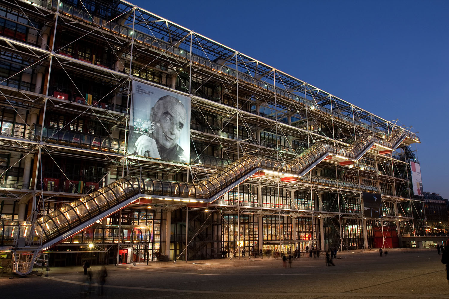 Pompidou Centre - Paris, France