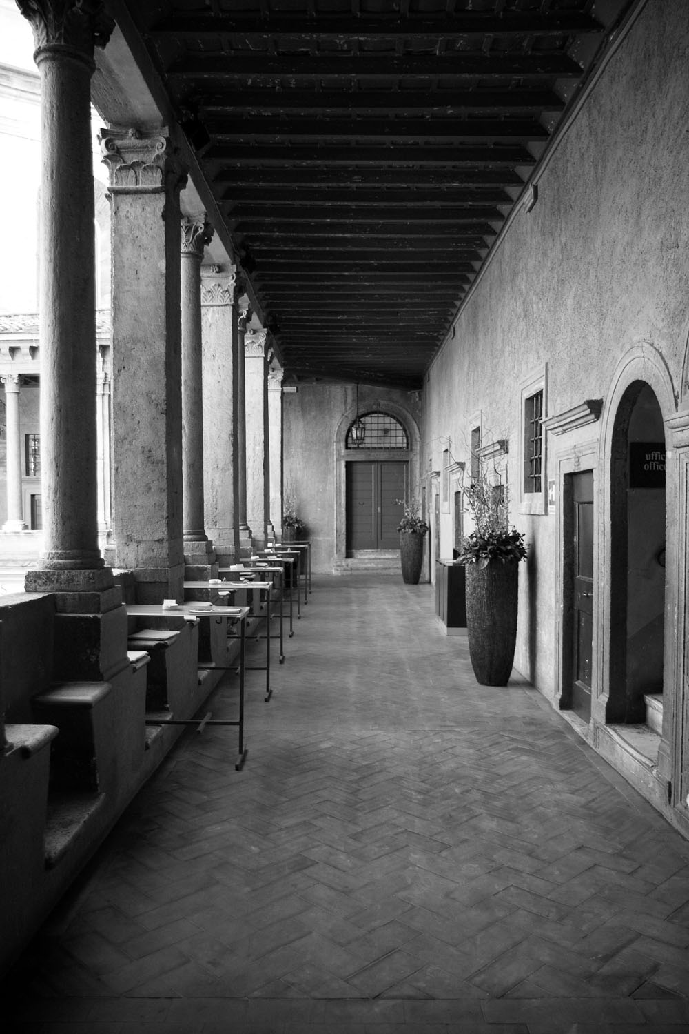 Cloisters - Rome, Italy