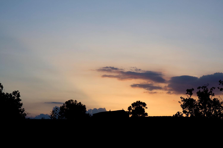 Sunset - Gaillac, France