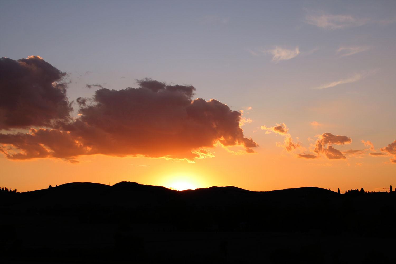 Sunset - Tuscany, Italy