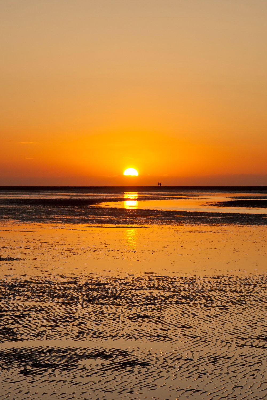 Sunset at Holkham Beach - Northfolk, England