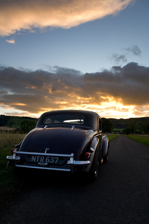 Sunset - Scone, Scotland