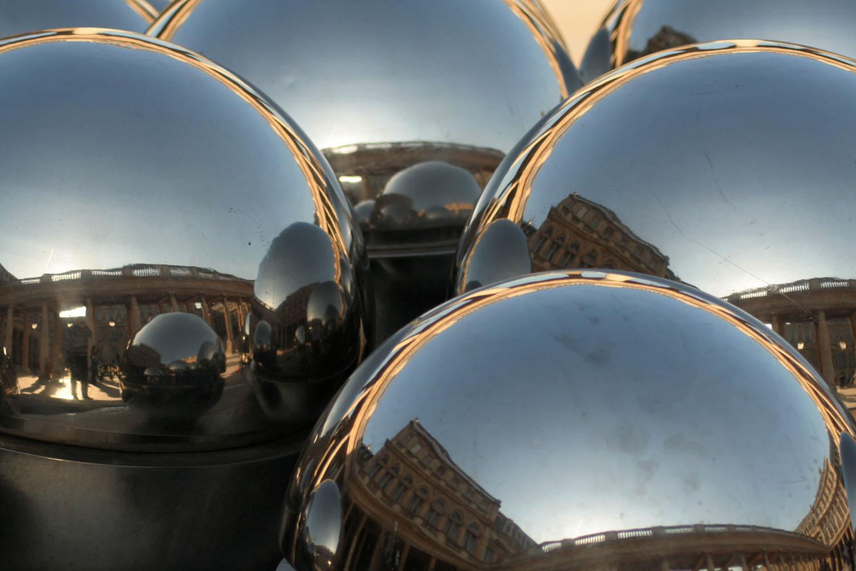 Reflections at Palais Royale - Paris, France