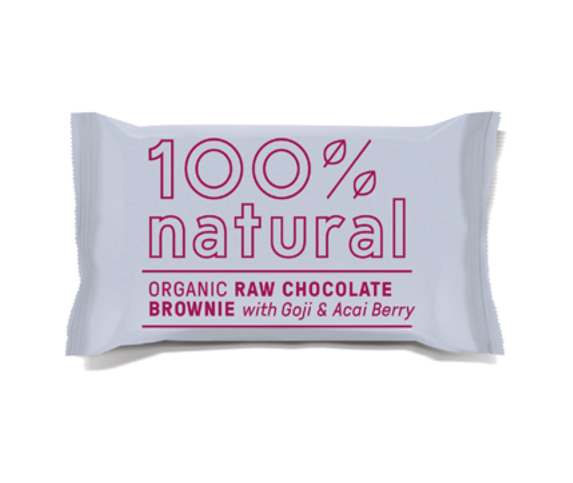 100% NATURAL BROWNIE