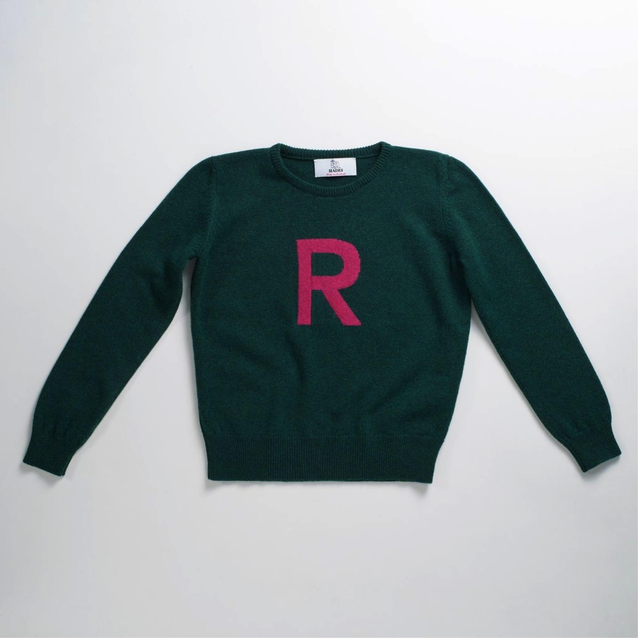 HADES WOOL - Alphabet sweater