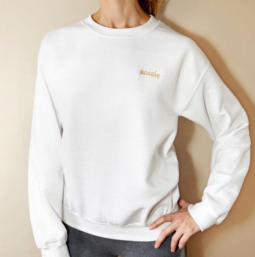 LDM - Peachy sweater