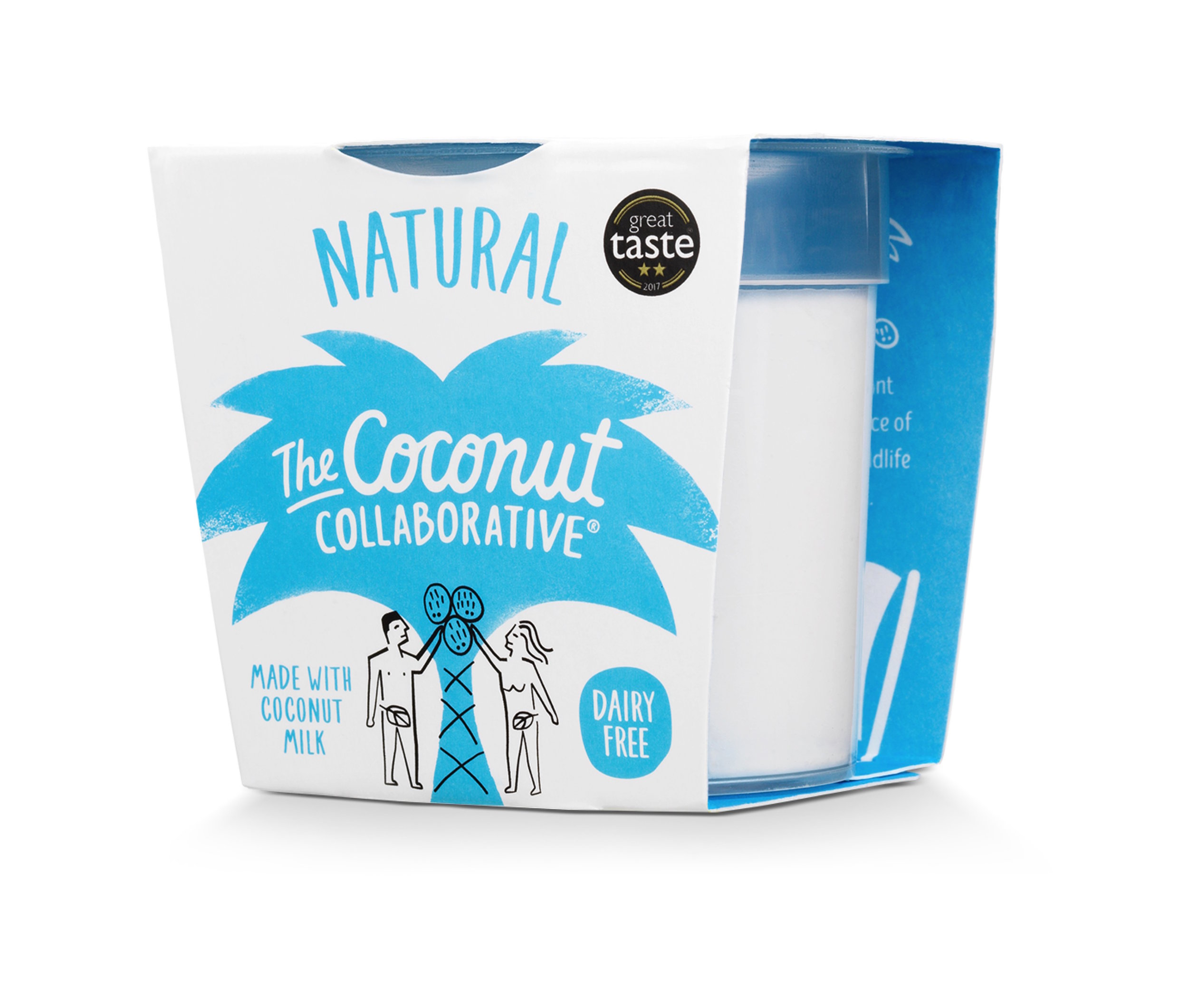 Coconut Collaborative - Made from coconut milk and only natural sugars, The Coconut Collaborative is the cool kid on the vegan yoghurt block. We like ours with a sprinkle of our signature Almond & Vanilla quinoa granola.
