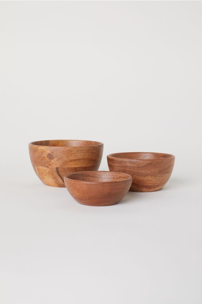 Wooden Bowls (H&M)