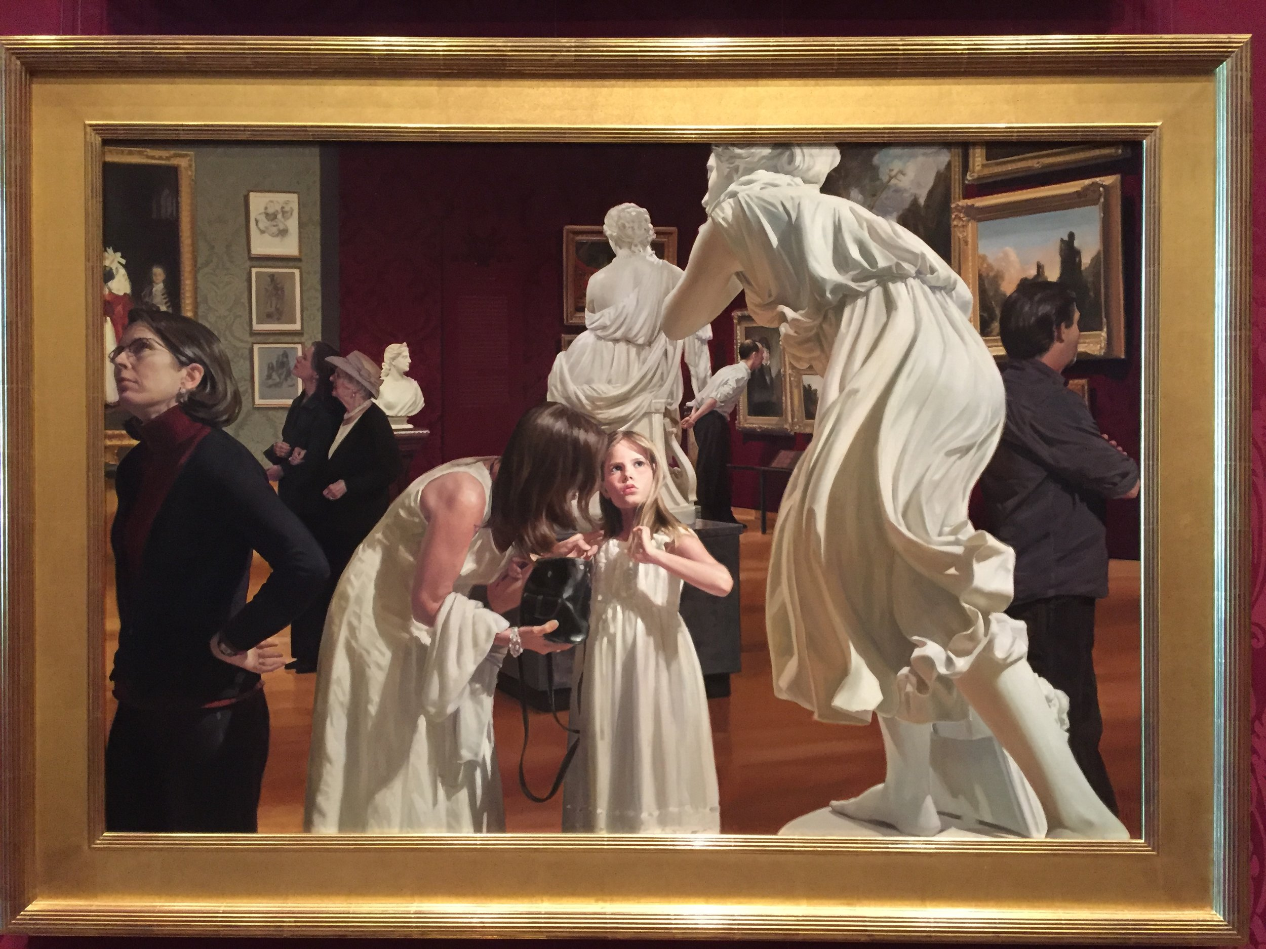 'Museum Epiphany III' by Warren and Lucia Prosperi, at Boston's Museum of Fine Arts
