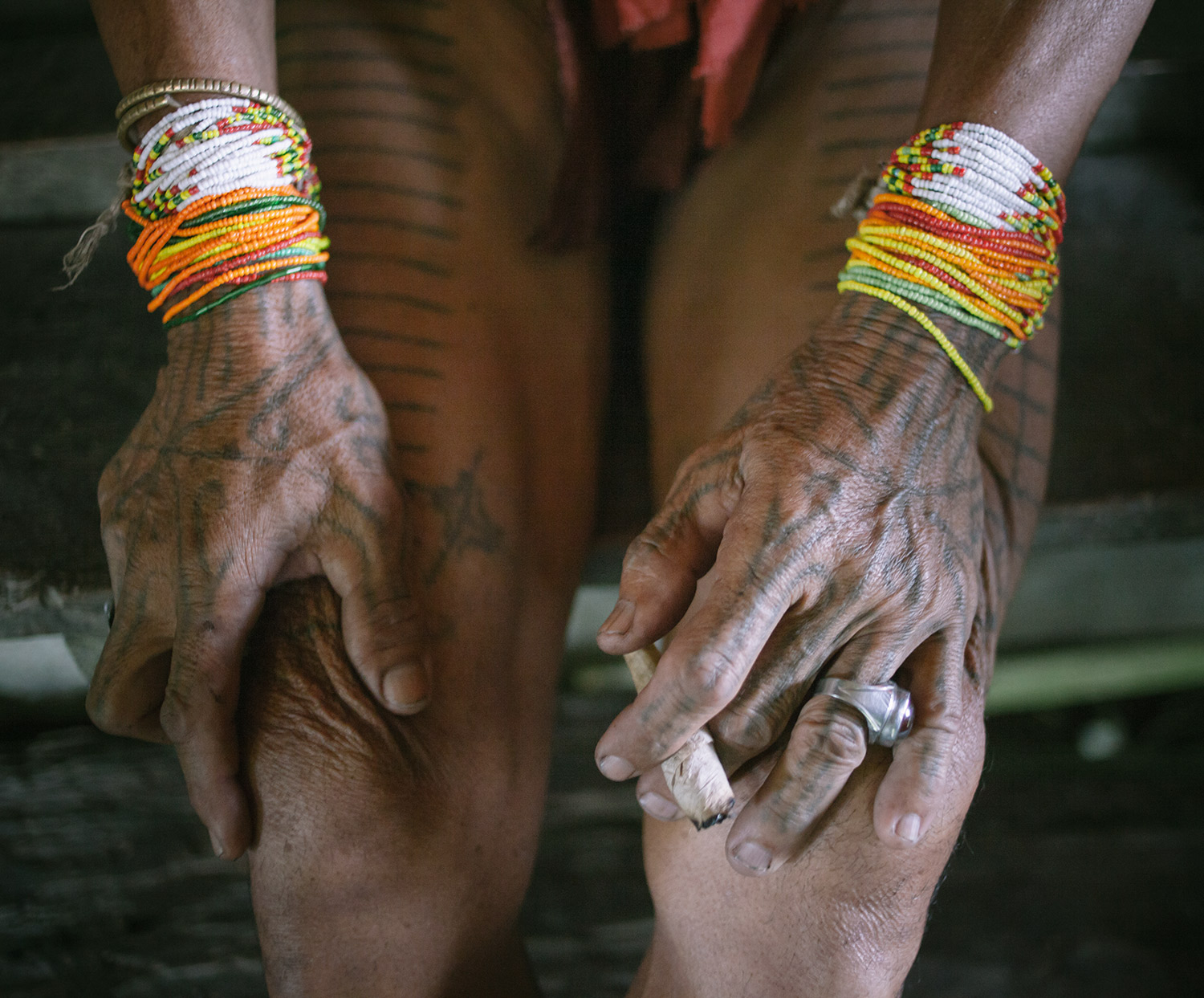 The Mentawai ancient tattoo.