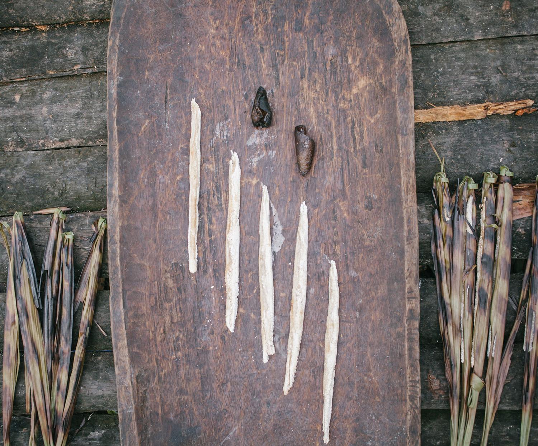 Sago, the Mentawai food staple.